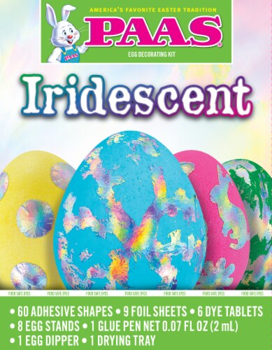 PAAS® Iridescent Egg Decorating Kit Perspective: front
