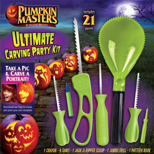 Pumpkin Masters® Ultimate Carving Party Kit Perspective: front