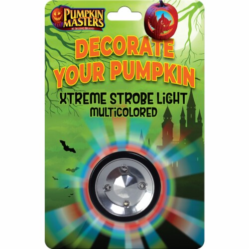 Pumpkin Masters® Xtreme Strobe Light - Multicolor Perspective: front