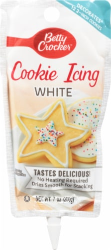 Betty Crocker White Decorating Cookie Icing Perspective: front