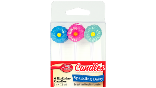Betty Crocker Daisy Candles Perspective: front