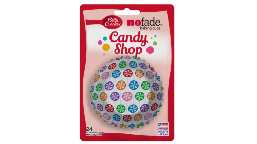 Betty Crocker Candy Shop No Fade Baking Cups Perspective: front