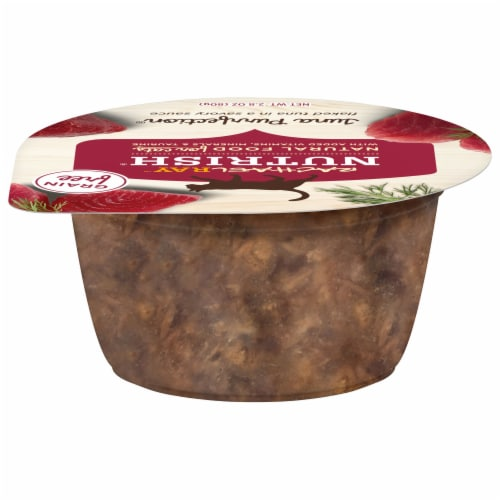Rachael Ray Nutrish Tuna Purrfection Natural Grain Free Wet Cat Food Perspective: front
