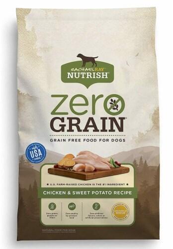 Rachael Ray Nutrish Zero Grain Chicken & Sweet Potato Recipe Dry Dog Food Perspective: front