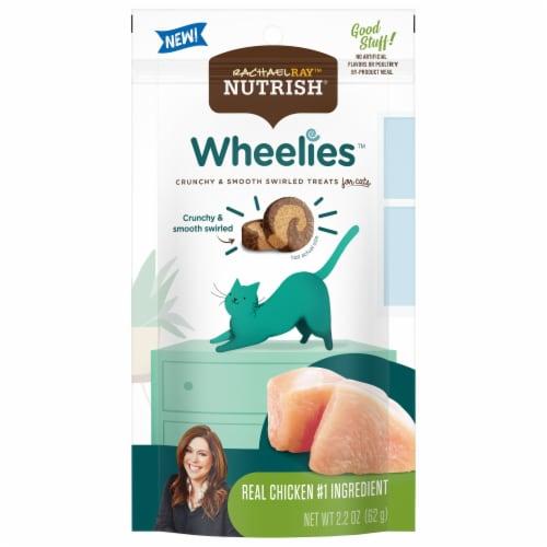 Rachael Ray Nutrish Wheelies Real Chicken Cat Treats Perspective: front