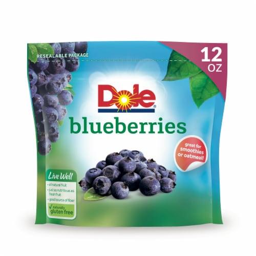 Dole Frozen Blueberries Perspective: front