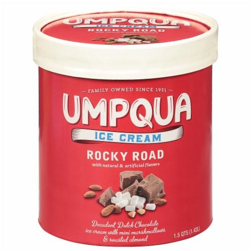 Umpqua Dairy Rocky Road Ice Cream Perspective: front