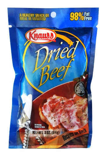 Knauss Dried Beef Perspective: front