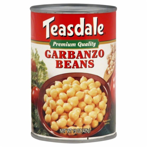 Teasdale Premium Quality Garbanzo Beans Perspective: front