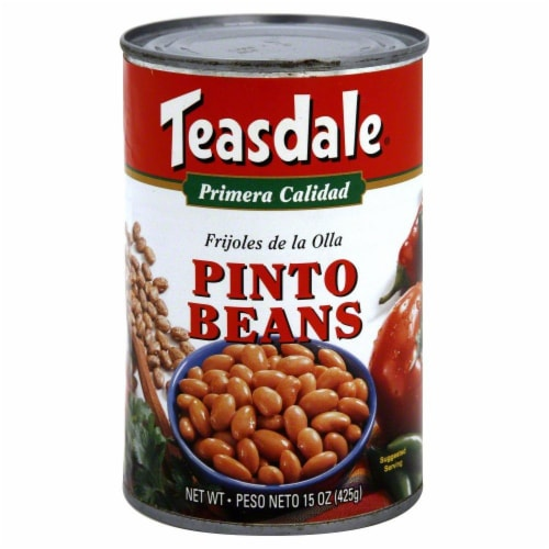 Teasdale Pinto Beans Perspective: front