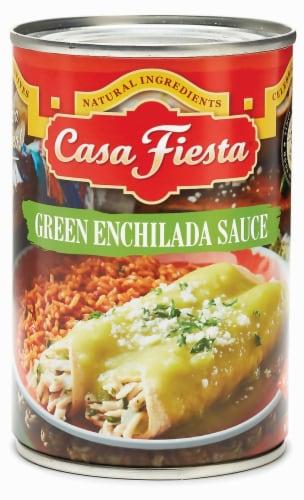 Casa Fiesta Green Enchilada Sauce Perspective: front