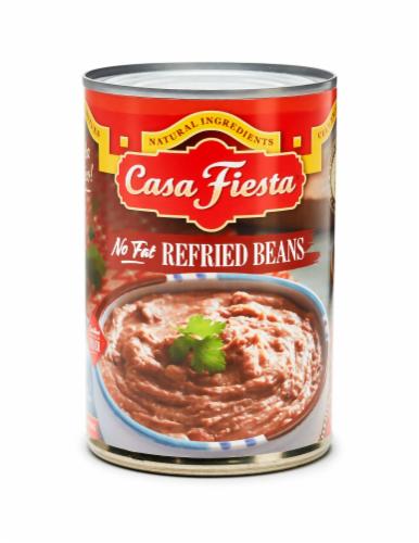 Casa Fiesta No Fat Refried Beans Perspective: front