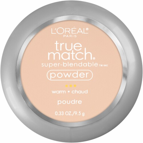 L'Oreal Paris True Match W1 Porcelain Super-Blendable Powder Perspective: front