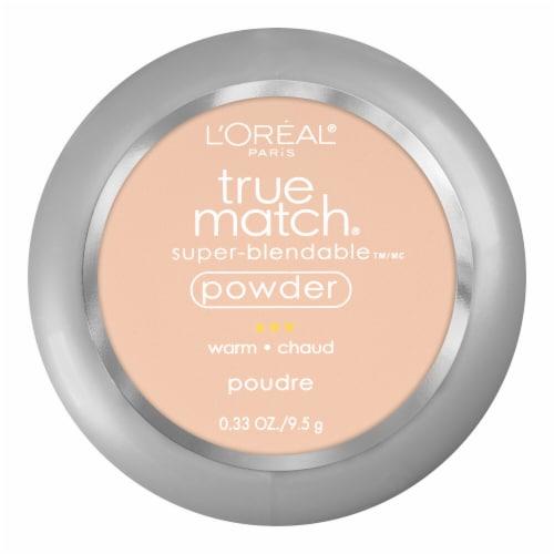 L'Oreal Paris True Match Super-Blendable W2 Light Ivory Makeup Powder Perspective: front