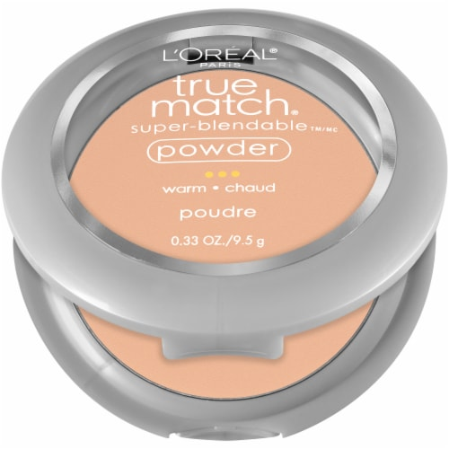 L'Oreal Paris True Match Natural Beige W4 Super-Blendable Powder Perspective: front