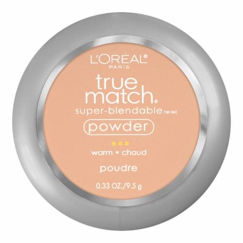 L'Oreal Paris True Match Sand Beige W5 Super-Blendable Powder Perspective: front
