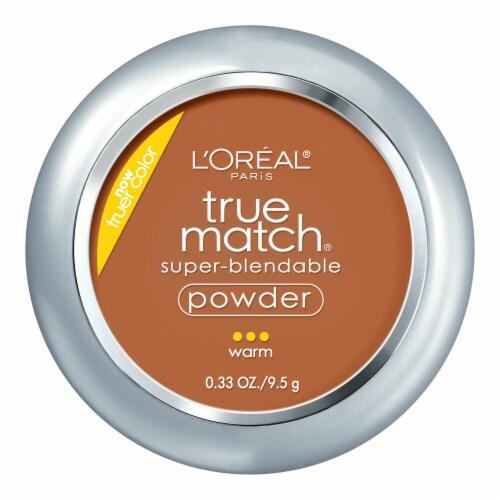 L'Oreal Paris True Match W8 Creme Cafe Super-Blendable Powder Perspective: front