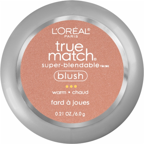 L'Oreal Paris True Match Barely Blushing Super Blendable Blush Perspective: front