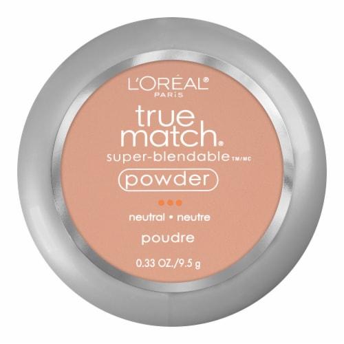L'Oreal Paris True Match Neutral True Beige Super Blendable Powder Perspective: front