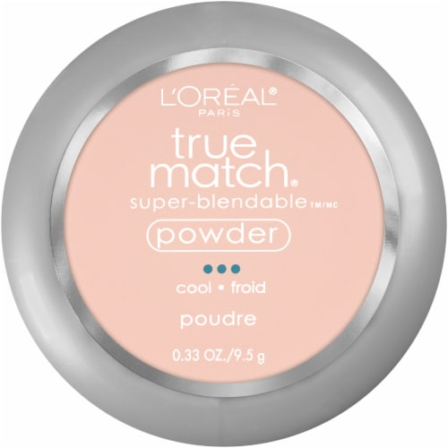 L'Oreal Paris True Match Alabaster Super Blendable Powder Perspective: front