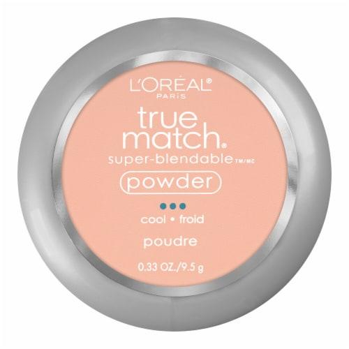 L'Oreal Paris True Match Shell Beige Super-Blendable Powder Perspective: front