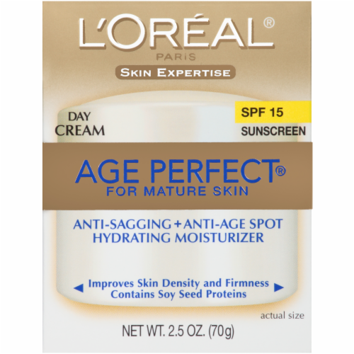 L'Oreal Paris Age Perfect Day Cream SPF 15 Perspective: front