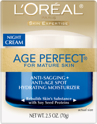 L'Oreal Paris Age Perfect Night Cream Perspective: front