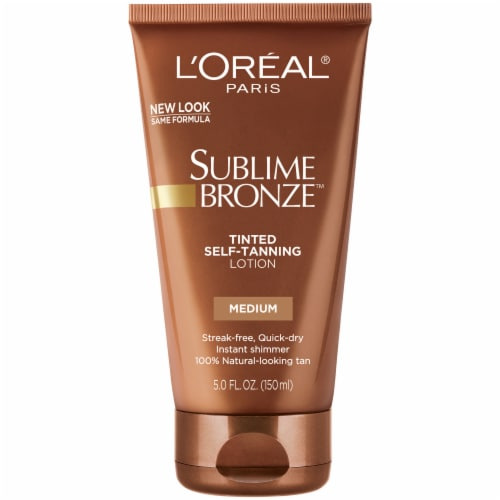 L'Oreal Paris Sublime Bronze Tinted Self-Tanning Lotion Perspective: front