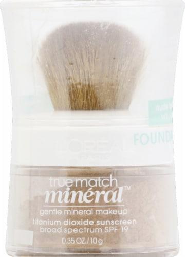 L'Oreal Paris True Match Nude Beige Gentle Mineral Makeup Perspective: front