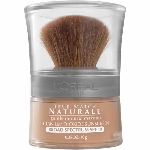 L'Oreal Paris True Match Mineral 462 Creamy Natural Powder Mineral Foundation Perspective: front