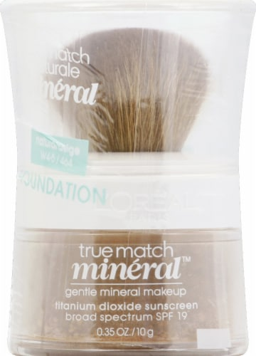 L'Oreal Paris True Match Natural Beige Gentle Mineral Makeup Perspective: front