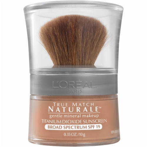 L'Oreal Paris True Match Mineral Classic Tan Foundation Perspective: front