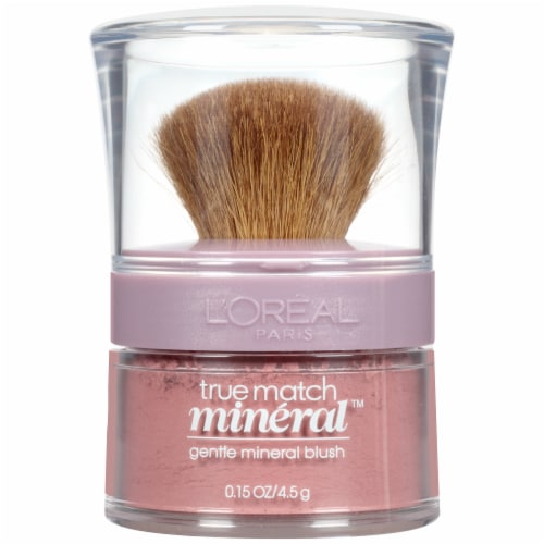 L'Oreal Paris True Match Soft Rose Gentle Mineral Blush Perspective: front