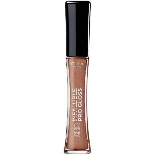 L'Oreal Paris Infallible Pro Dulce De Leche Lip Gloss Perspective: front