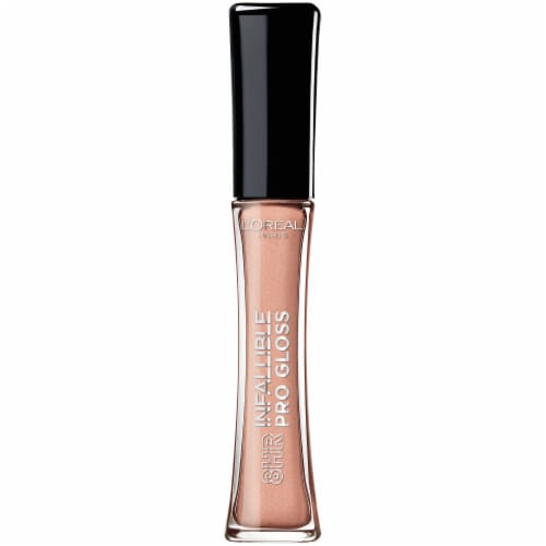 L'Oreal Paris Infallible Pro Coral Sands Lip Gloss Perspective: front