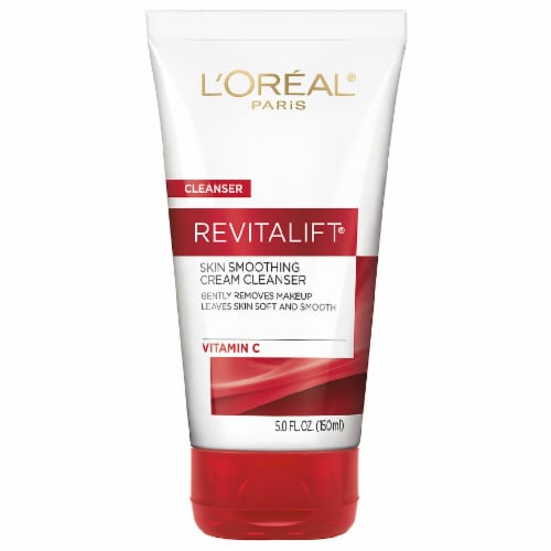 L'Oreal Paris Revitalift Skin Smoothing Cream Cleanser Perspective: front