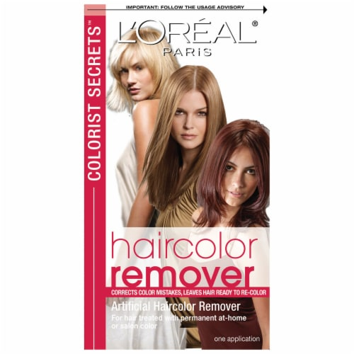 L'Oreal Paris Artificial Haircolor Remover Perspective: front