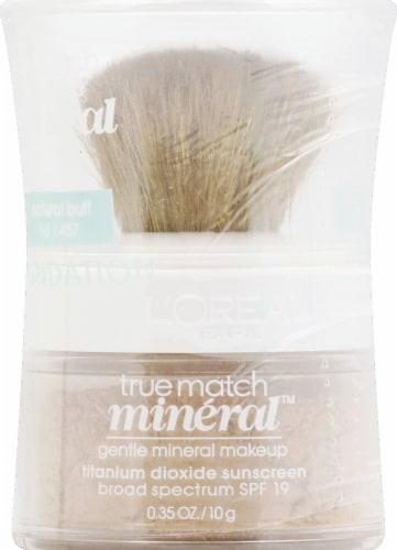 L'Oreal Paris True Match Natural Buff Gentle Mineral Makeup Perspective: front