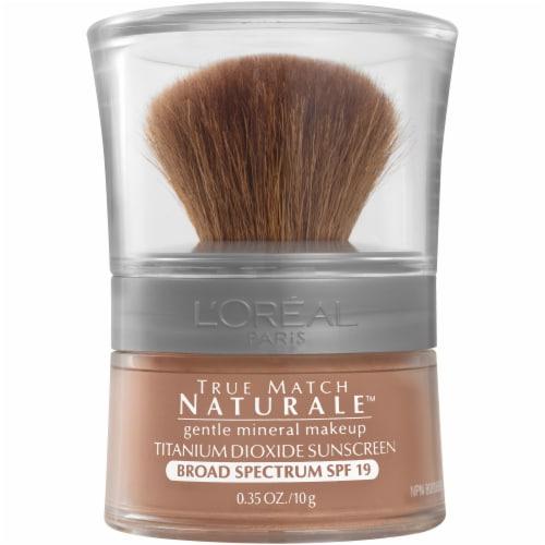 L'Oréal Paris True Match Loose Powder Mineral Foundation Makeup Soft Sable Perspective: front