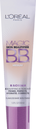 L'Oreal Paris Magic Skin Beautifier Medium BB Cream Perspective: front