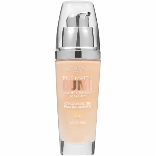 L'Oreal Paris True Match Lumi Porcelain Foundation With SPF 20 Perspective: front