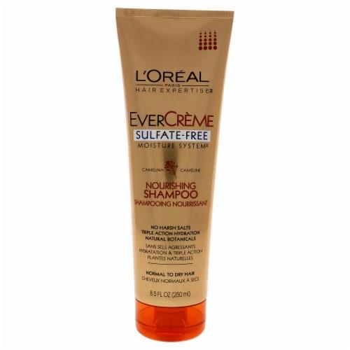 EverCreme Sulfate-Free Nourishing Shampoo by LOreal Paris for Unisex - 8.5 oz Shampoo Perspective: front