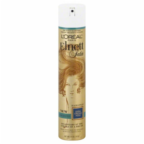 Elnett Extra Strong Hold Fragrance Free Hairspray Perspective: front