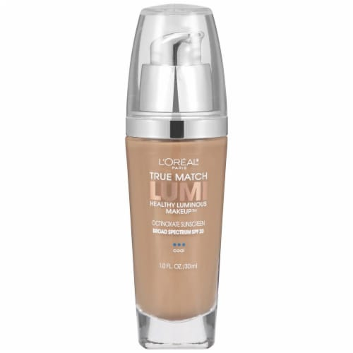 L'Oreal Paris True Match Lumi Classic Beige Foundation With SPF 20 Perspective: front