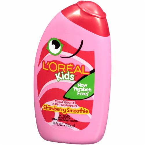 L'Oreal Kids Strawberry Smoothie 2-in-1 Shampoo Perspective: front