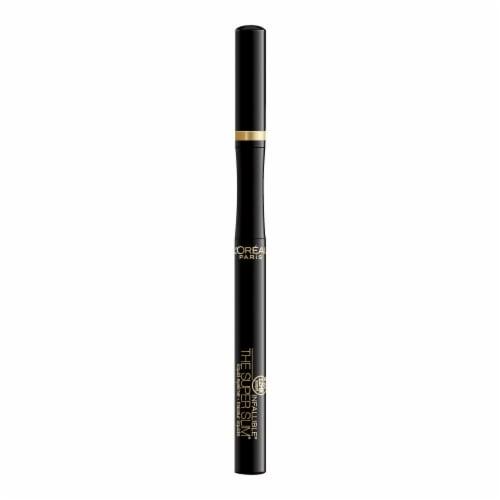 L'Oreal Paris Infallible Super Slim 400 Black Liquid Eyeliner Perspective: front