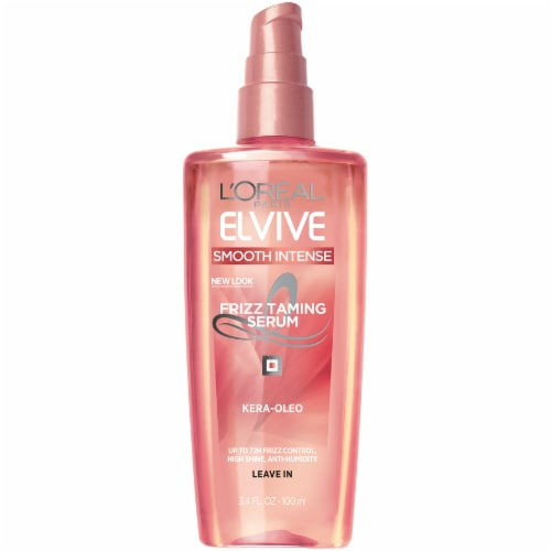 L'Oréal Paris Elvive Smooth Intense Frizz Taming Serum Perspective: front