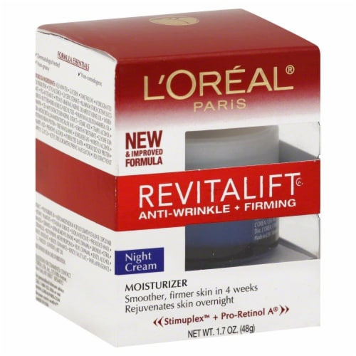 L'Oreal Revitalift Cream Perspective: front