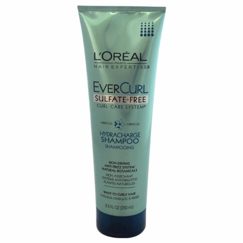 L'Oreal Paris EverCurl Sulfate-Free Hydracharge Shampoo Perspective: front