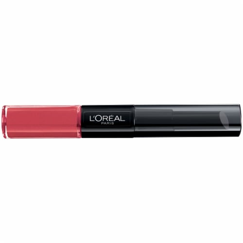 L'Oreal Paris Infallible Toujour Teaberry  Pro Last 2 Step Lip Gloss Perspective: front